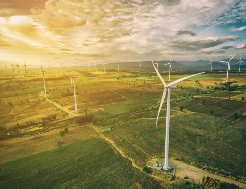 Windturbines rond de wereld hebben al tonnen CO2 voorkomen