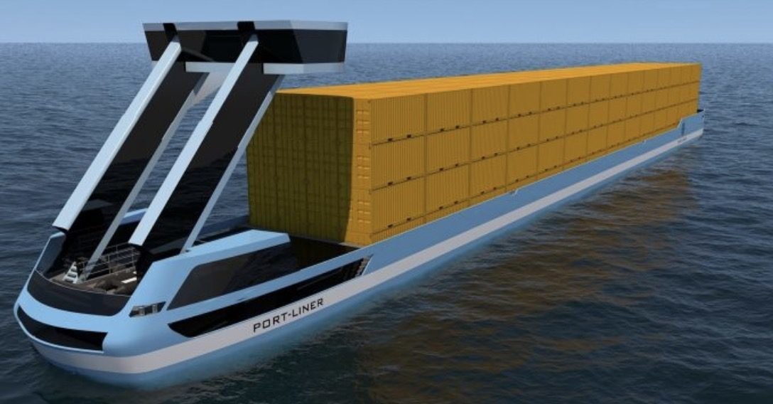 Port-Liner elektrisch binnenschip