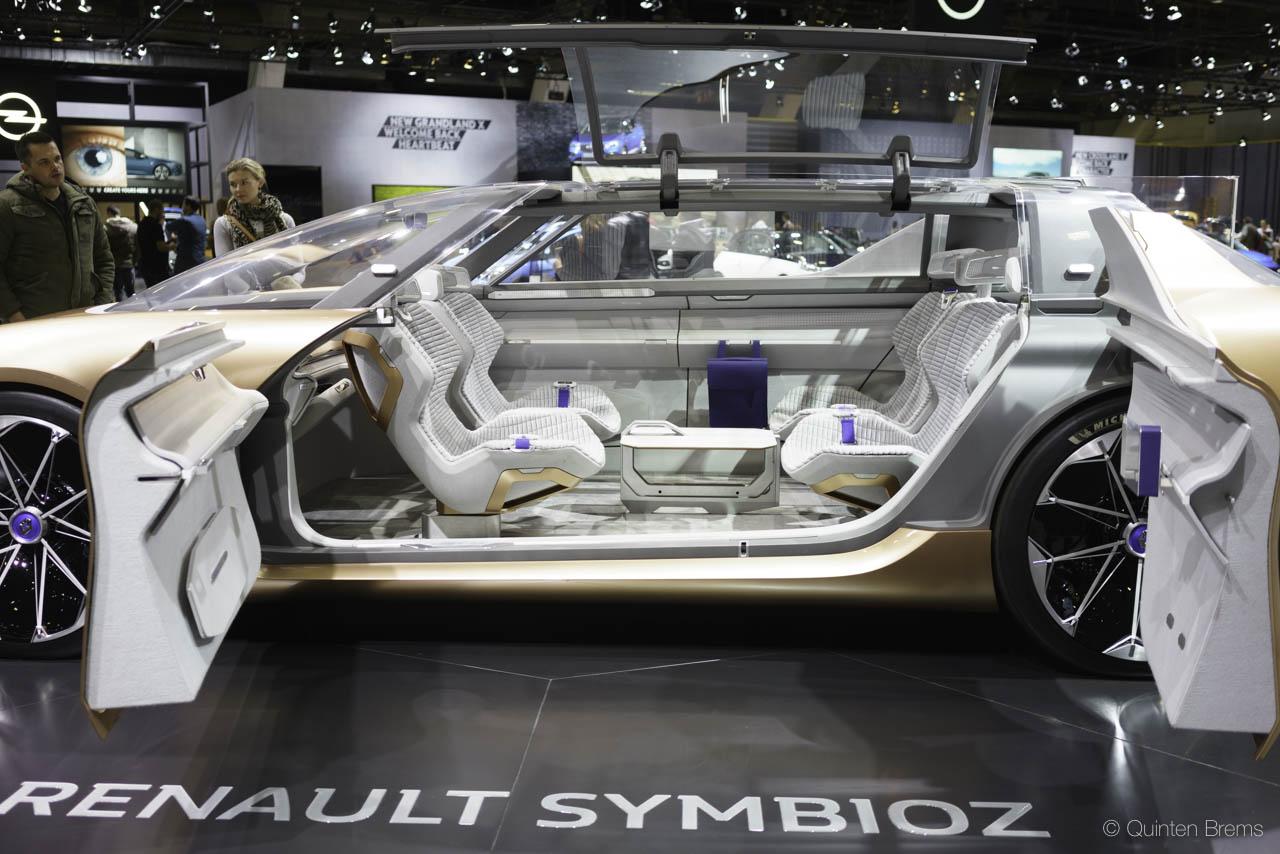 Renault Symbioz op autosalon Brussel 2018