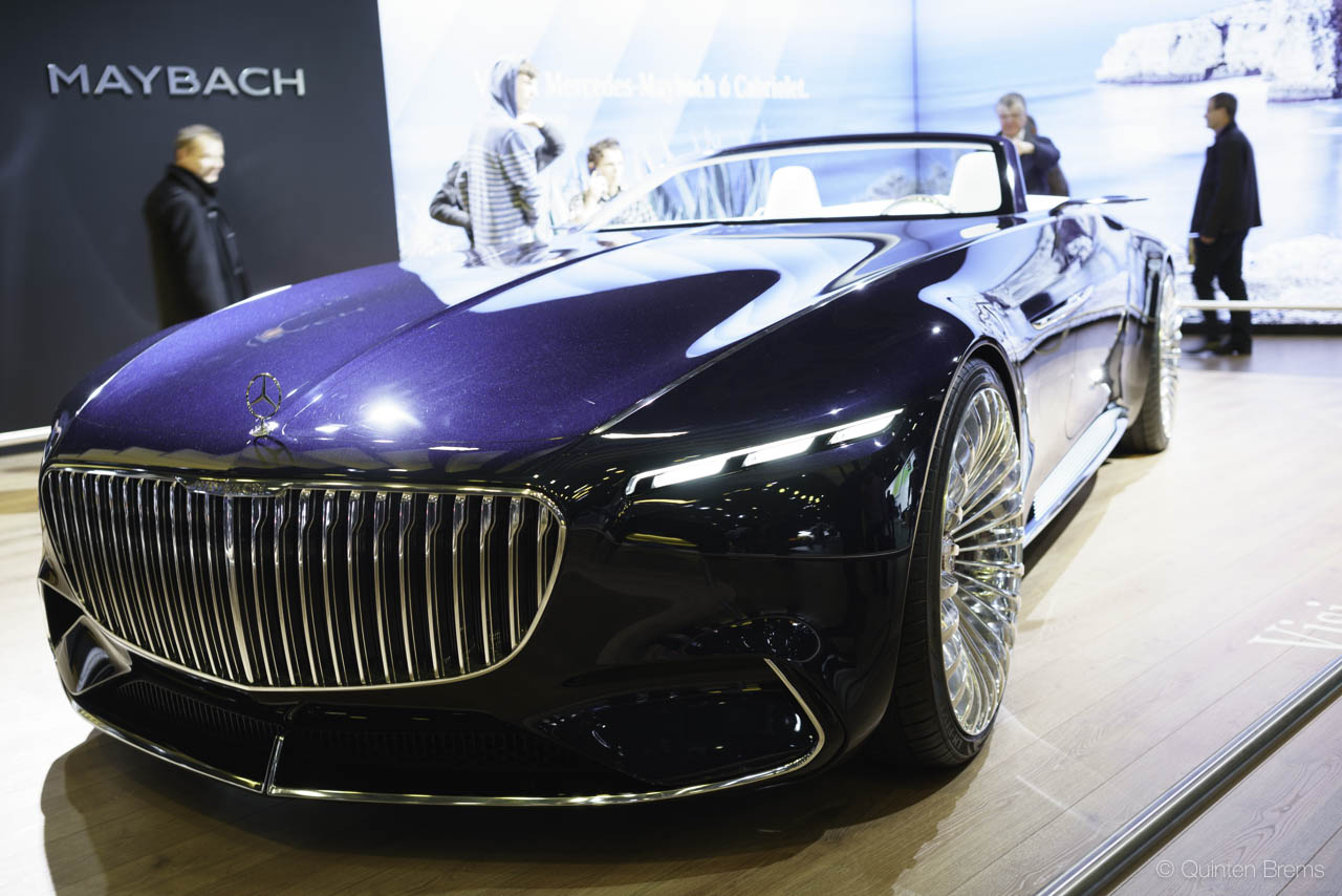 Maybach 6 op autosalon Brussel 2018