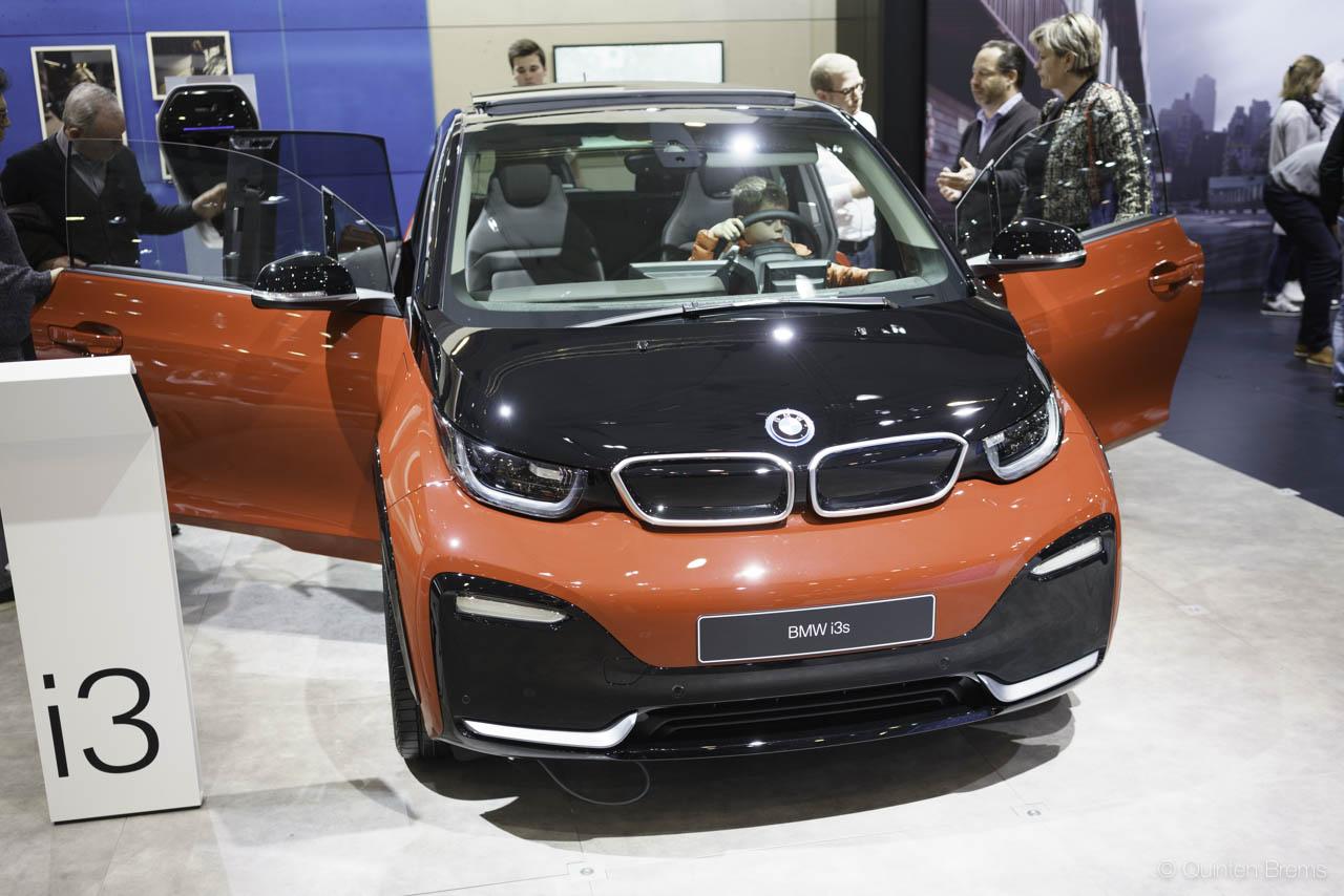 BMW I3s op autosalon Brussel 2018
