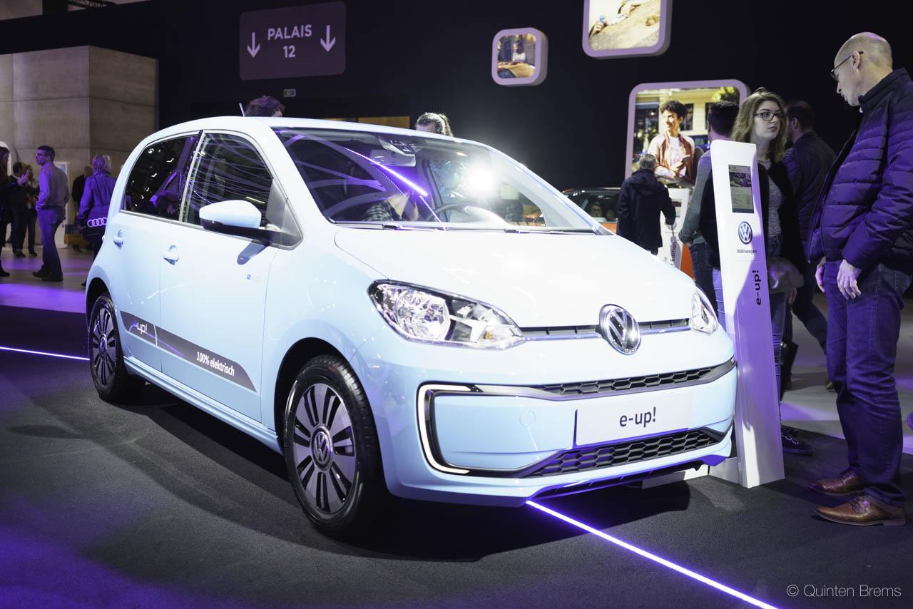 VW e-UP op autosalon Brussel 2018