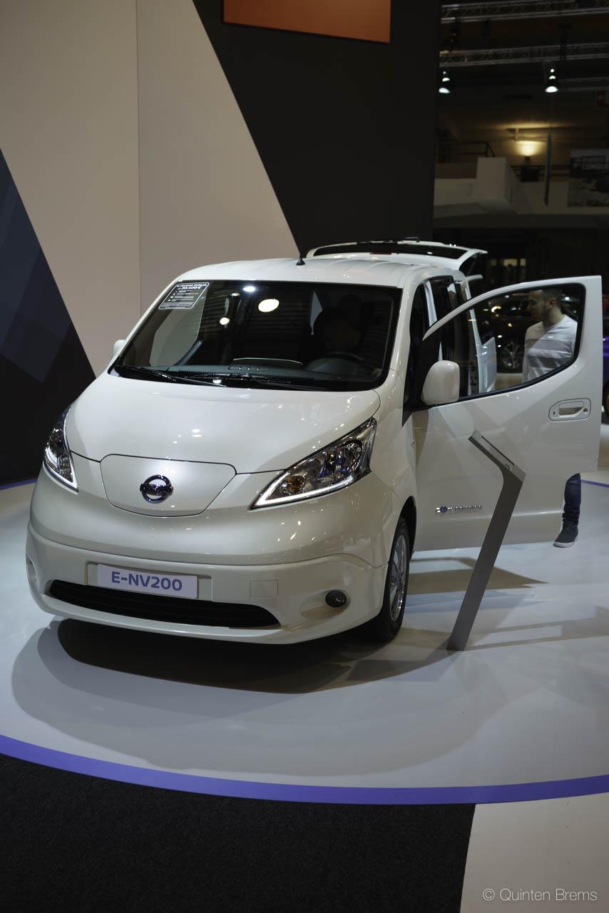 Nissan E-NV2000 op autosalon Brussel 2018