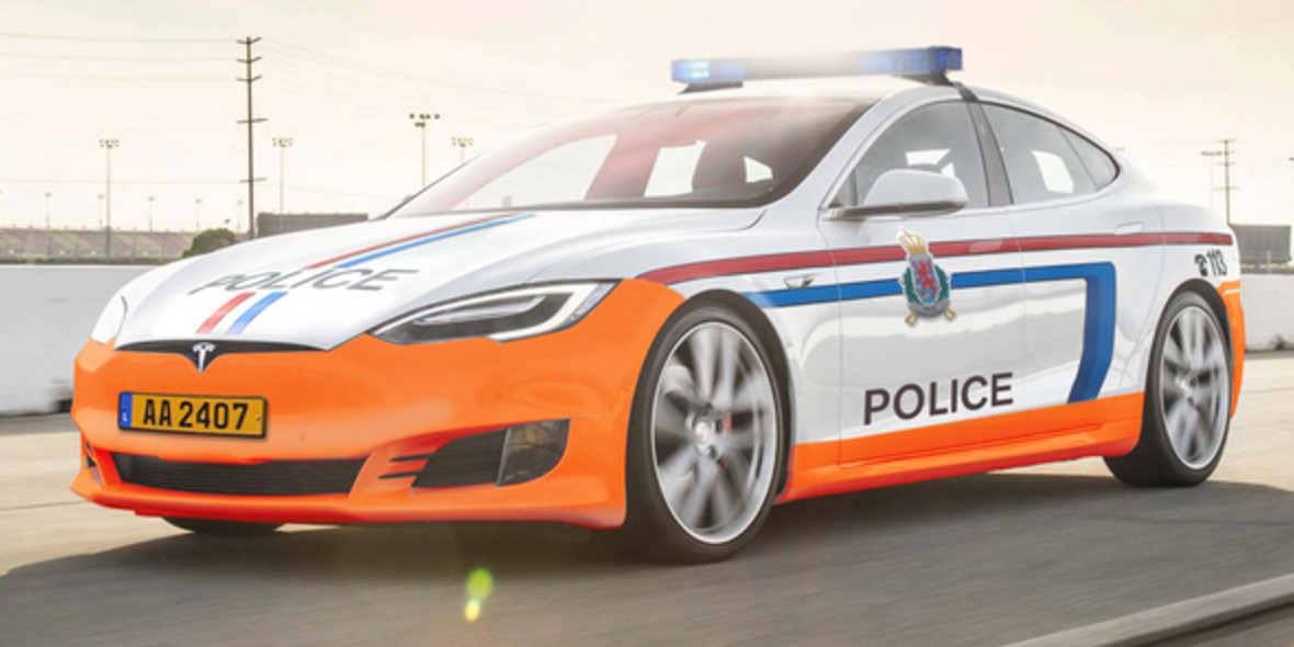 tesla-politie-groothertogdom-luxemburg