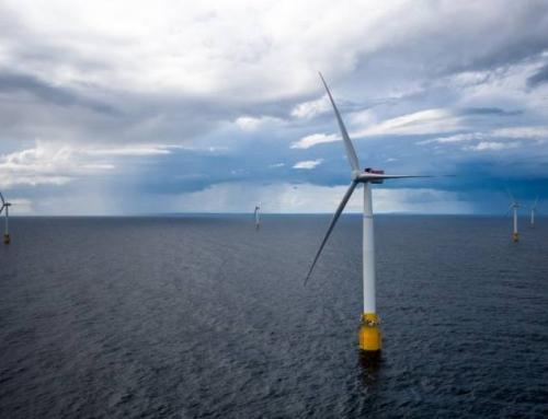De drijvende windmolens van Schotland