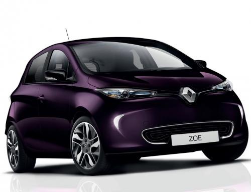 Vernieuwde Renault Zoe R110