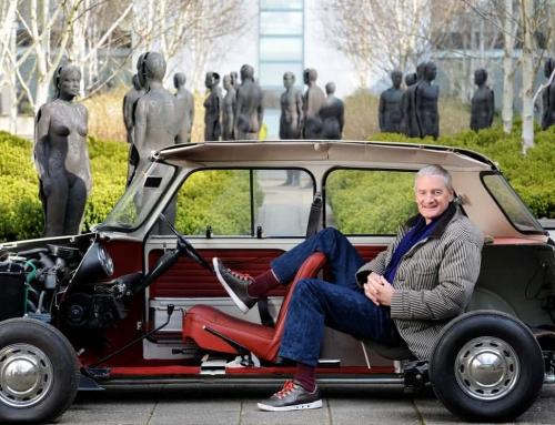 De rijdende stofzuiger van James Dyson