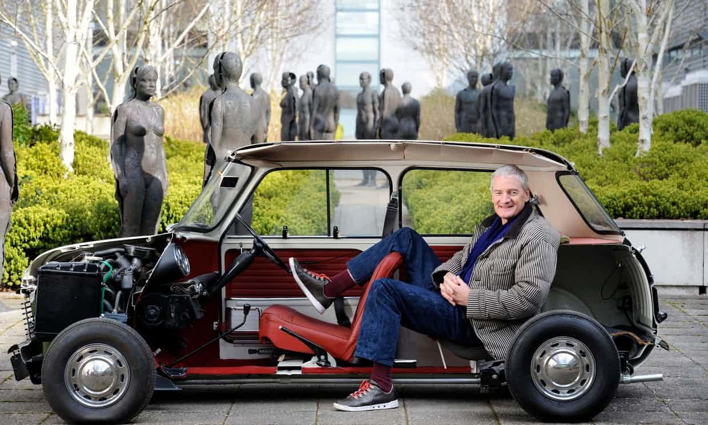James Dyson EV car