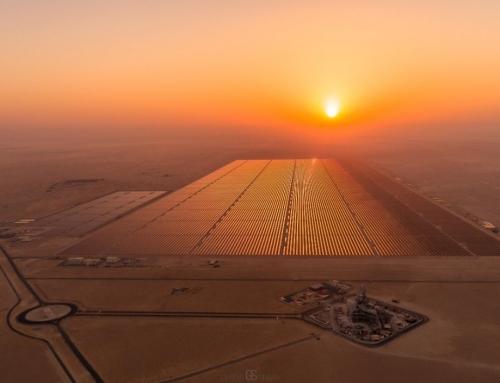 Zonneveld als volgende wereldwonder in Egypte?