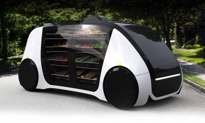robomart zelf rijdende winkel autonome