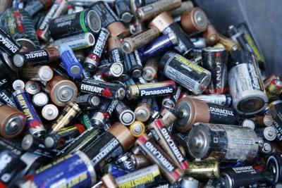 Gevaarlijk afval / Batterijen