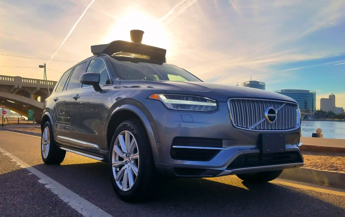 Uber self driving Volvo involved in fatal accident with pedestrian